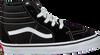 VANS Baskets TD SK8-HI ZIP en noir  - small