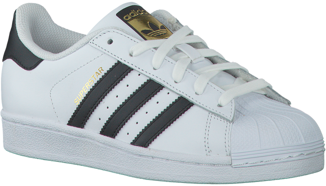 ADIDAS Baskets SUPERSTAR DAMES en blanc - large