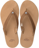 Cognac UGG Slippers TAWNEY  - small