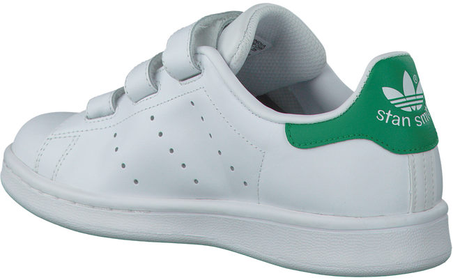 ADIDAS Baskets STAN SMITH CF J en blanc - large