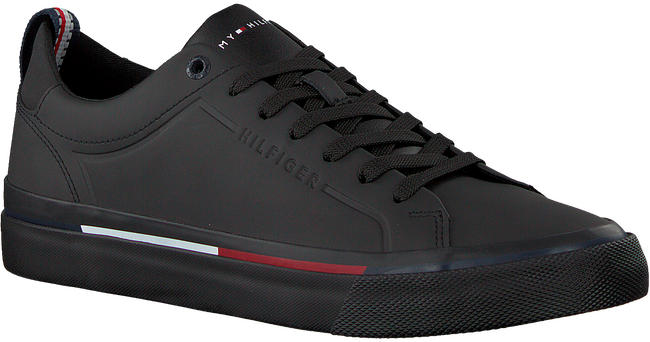 Zwarte TOMMY HILFIGER Sneakers CORPORATE SNEAKER  - large