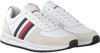 TOMMY HILFIGER Baskets basses MODERN CORPORATE RUNNER en blanc  - small
