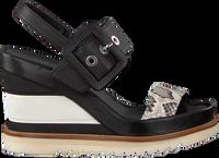 LAURA BELLARIVA Sandales 3381 en noir  - medium