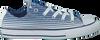 CONVERSE Baskets CTAS STRIPE KIDS en bleu - small