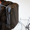 Zwarte CYCLEUR DE LUXE Weekendtas VENTOUX  - small