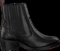 Zwarte HABOOB Enkellaarzen P6731 - medium