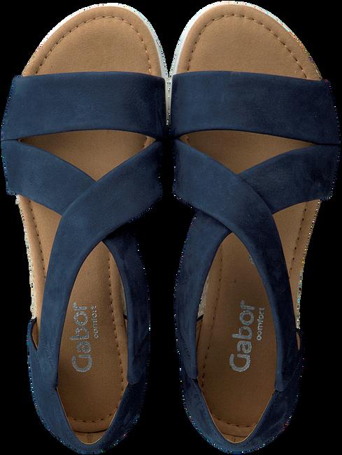 GABOR Sandales 711.1 en bleu  - large