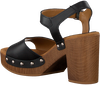 UNISA Sandales TACO en noir  - small