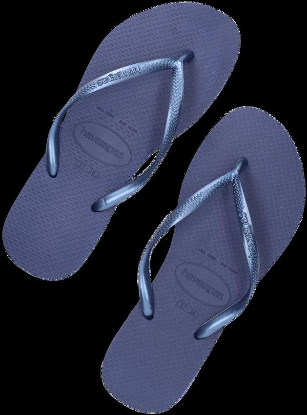 Blauwe HAVAIANAS Slippers SLIM WOMEN - larger