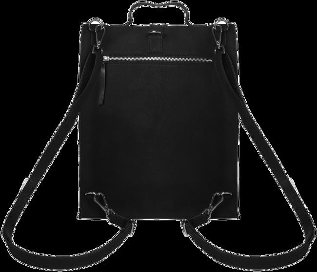 LAAUW Sac pour ordinateur portable LAPTOP NINE STREETS CANVAS en noir  - large