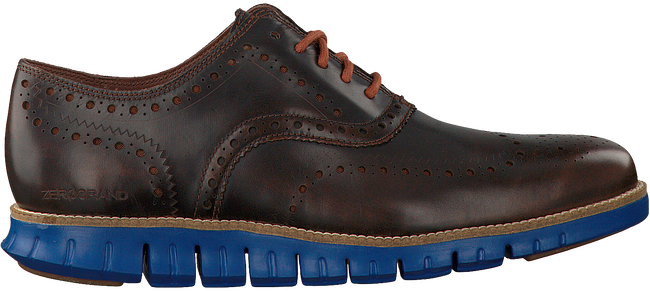 COLE HAAN Chaussures à lacets ZEROGRAND WING OX en marron - large