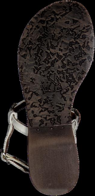 LAZAMANI Sandales 75.211 en blanc - large
