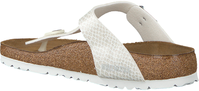 BIRKENSTOCK Tongs GIZEH MAGIC SNAKE en blanc - large