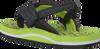 REEF Tongs GROM REEF FOOTPRINTS en vert - small