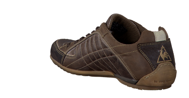 brown LE COQ SPORTIF shoe SEDAN LOW  - large