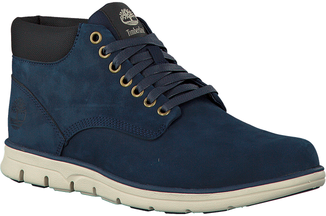 TIMBERLAND Baskets BRADSTREET CHUKKA LEATHER en bleu - large