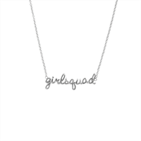 Zilveren ATLITW STUDIO Ketting URBAN NECKLACE GIRLSQUAD - medium