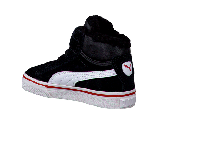 PUMA Baskets PUMA MID VULC FUR V JR en noir - large