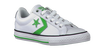 CONVERSE Baskets STAR PLAYER OX KIDS en blanc - small