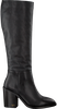 TOMMY HILFIGER Bottes hautes MONO COLOR LONG en noir  - small