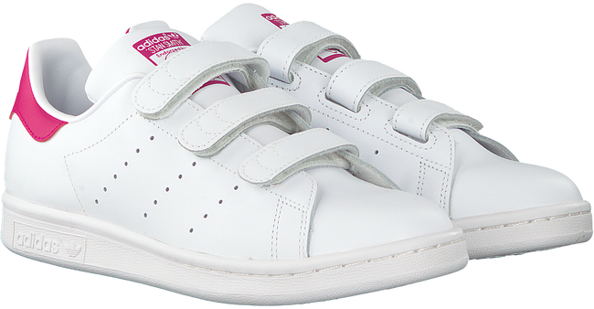 Witte ADIDAS Sneakers STAN SMITH CF J  - large