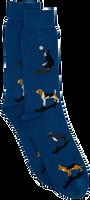 Alfredo Gonzales Chaussettes DOGS en bleu  - medium