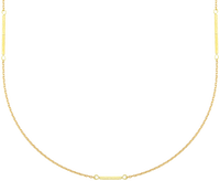 JEWELLERY BY SOPHIE Collier LONG NECKLACE en or - medium