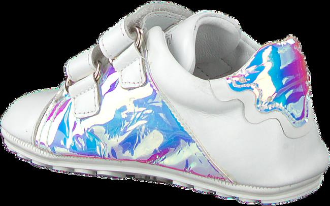 JOCHIE & FREAKS Chaussures bébé 20006 en blanc  - large