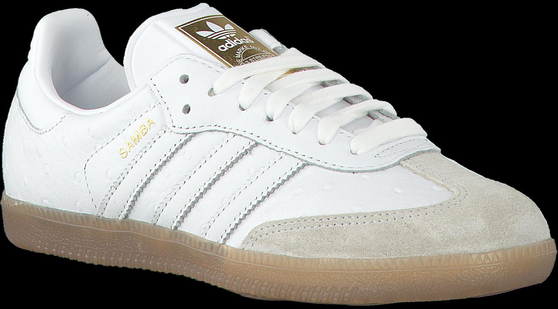 Witte ADIDAS Sneakers SAMBA DAMES