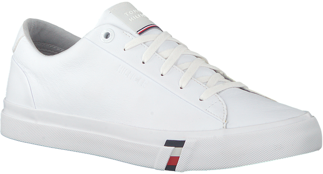 Witte TOMMY HILFIGER Lage sneakers CORPORATE MEN  - large