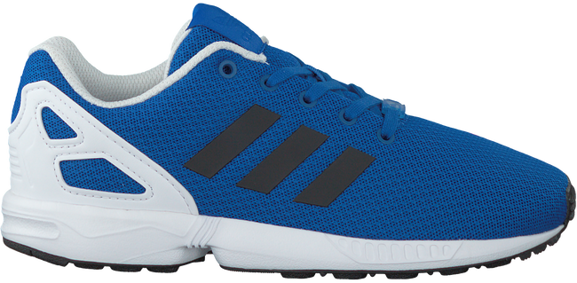 Blauwe ADIDAS Sneakers ZX FLUX KIDS  - large