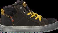 Groene KOEL4KIDS Hoge sneaker KO896-AL-03  - medium