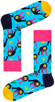 Blauwe HAPPY SOCKS Sokken MONKEY  - medium