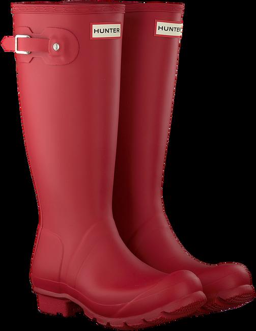 HUNTER Bottes en caoutchouc ORIGINAL KIDS en rouge - large