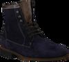 FLORIS VAN BOMMEL Bottillons 10582 en bleu - small