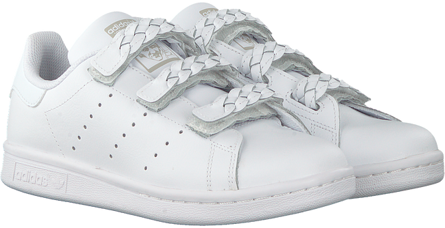 Witte ADIDAS Lage sneakers STAN SMITH CF J  - large