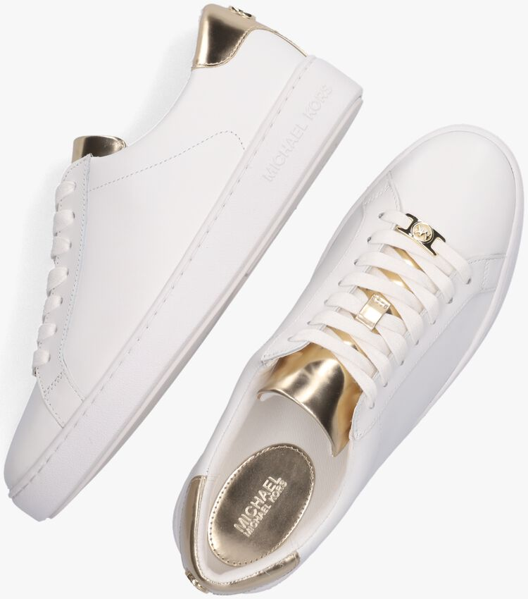 Witte MICHAEL KORS Sneakers IRVING LACE UP - larger