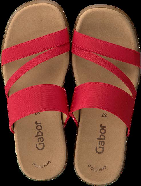 GABOR Tongs 702 en rouge - large