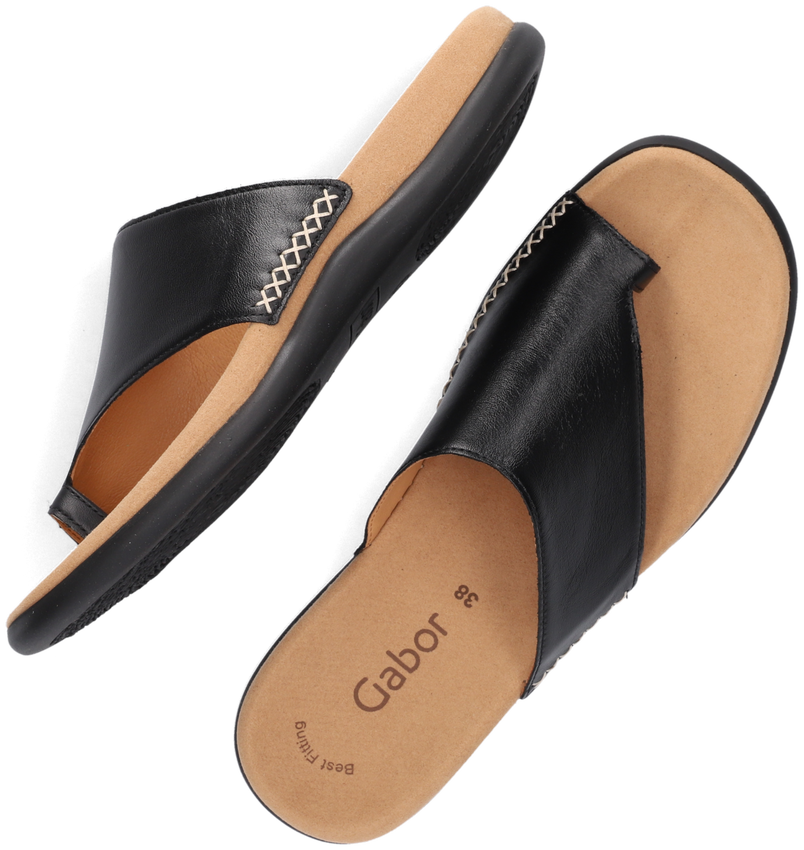 Zwarte GABOR Slippers 700  - larger