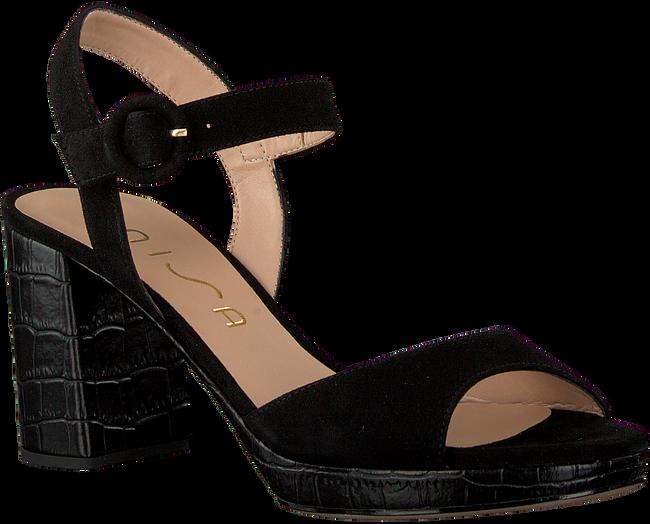 UNISA Sandales OMERCI en noir  - large