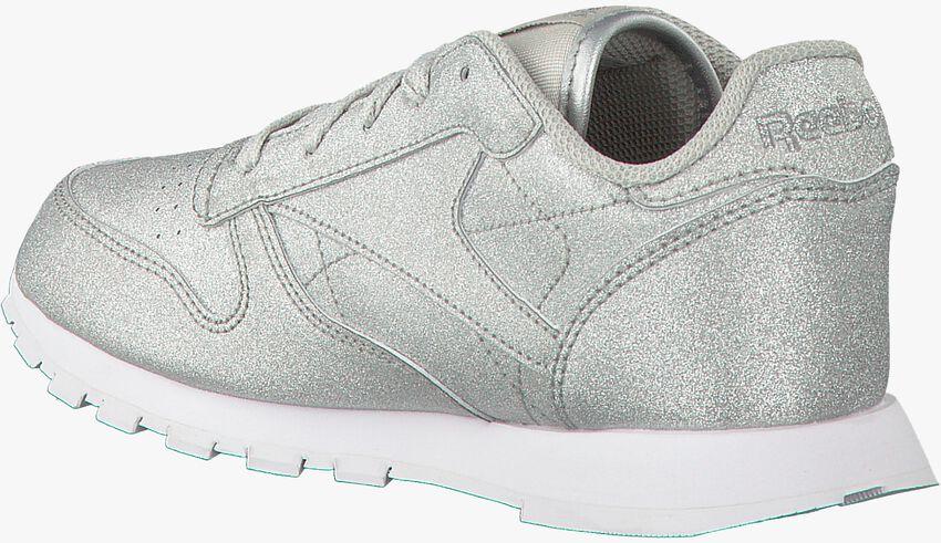 Zilveren REEBOK Sneakers CL LEATHER KIDS  - larger