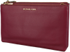 MICHAEL KORS Sac bandoulière DBL ZIP CROSSBODY en rouge - small