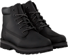 TIMBERLAND Bottines à lacets COURMA KID TRADITIONAL 6 INCH en noir  - small