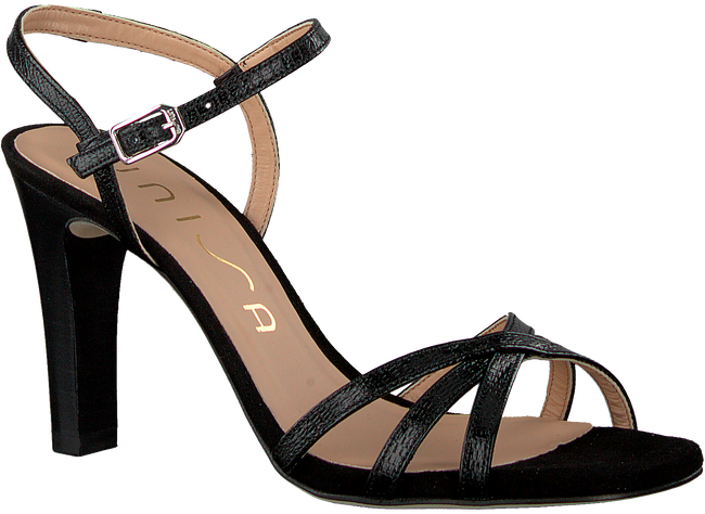 UNISA Sandales SANTA en noir  - large