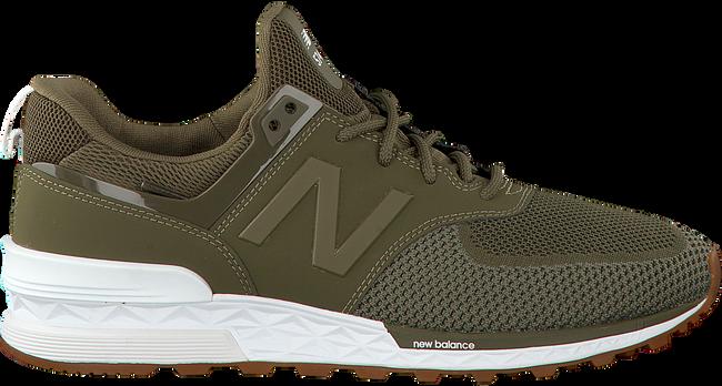 groene new balance sneakers ms574 heren