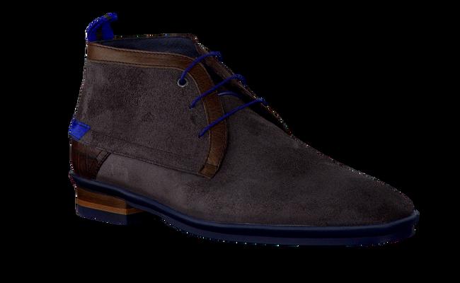 Grijze FLORIS VAN BOMMEL Nette schoenen 10334  - large