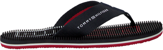 Blauwe TOMMY HILFIGER Slippers MASSAGE FOOTBED TH BEACH  - large