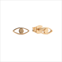 Gouden ATLITW STUDIO Oorbellen PARADE EARRINGS EYE - medium