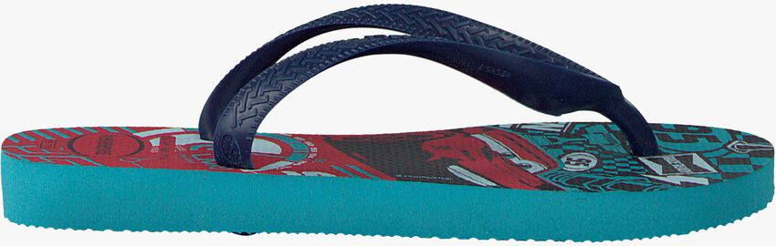 Blue HAVAIANAS shoe CARS  - larger