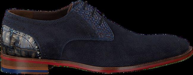 Blauwe FLORIS VAN BOMMEL Nette schoenen 18104  - large